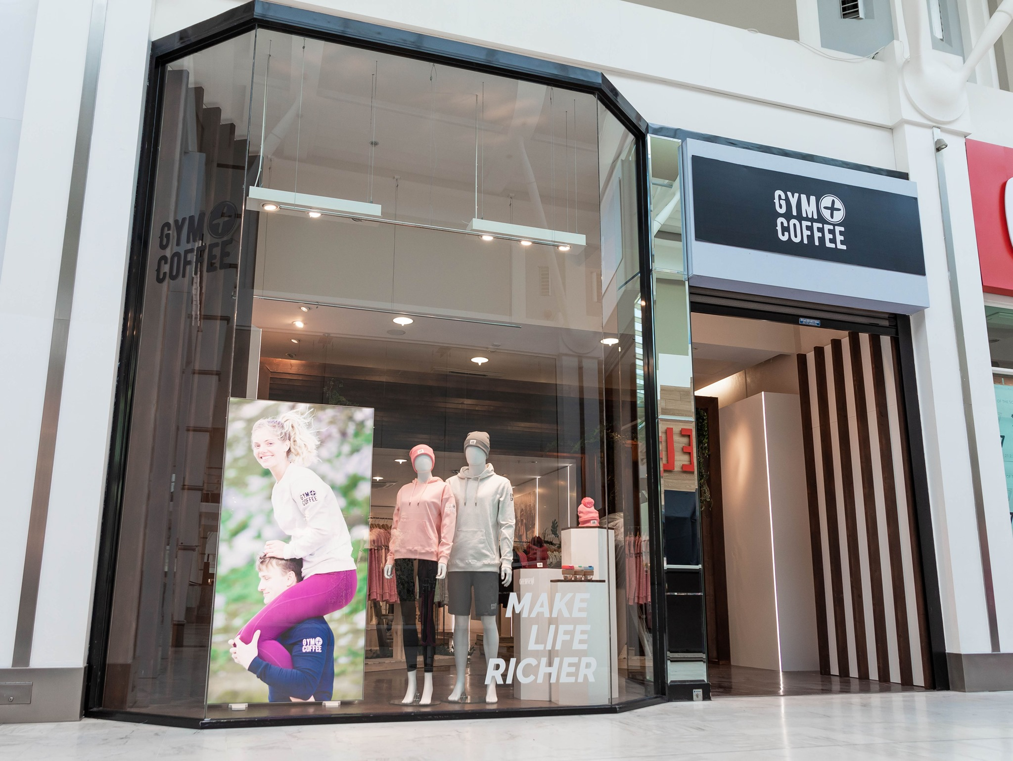Gym + Coffee is open at Liffey Valley!