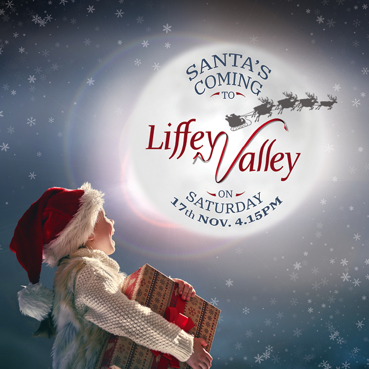 Santa has arrived to Lifffey Valley!