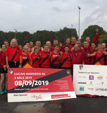 Lucan Harriers Sponsorship